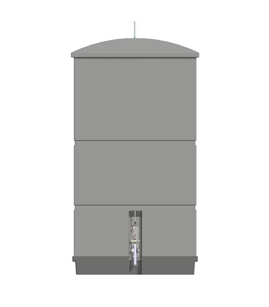 plastový zásobník biosystem 1000l
