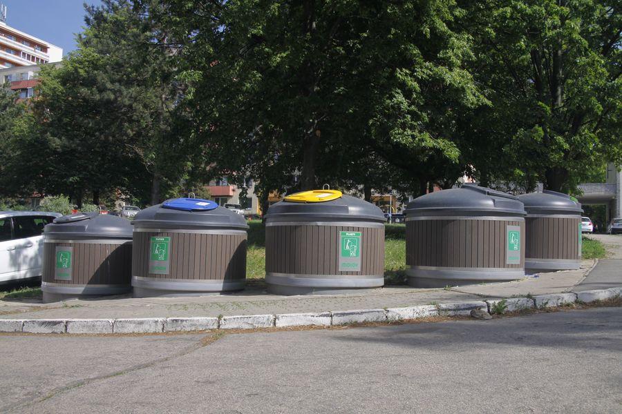 polopodzemné kontajnery Nitra