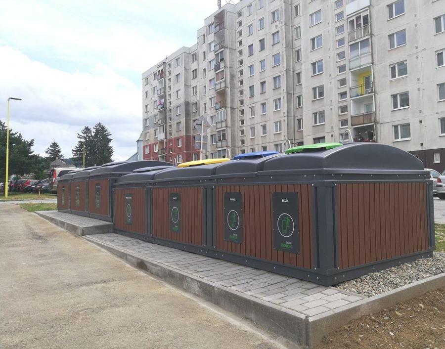 Polopodzemné kontajnery Stropkov